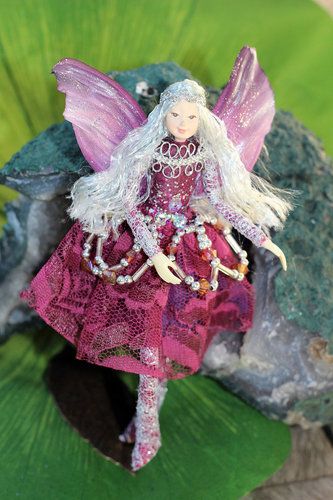 Princess fairy burgundy purple